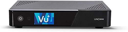 VU+ Uno 4K SE 1x DVB-S2 FBC Twin Tuner Linux Satellitenreceiver (UHD, 2160p) schwarz