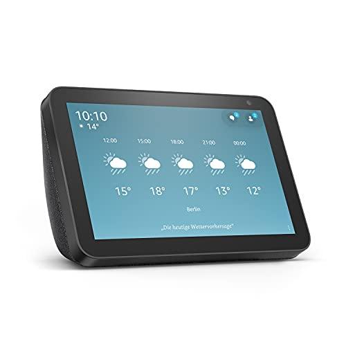 Echo Show 8 (1. Gen, 2019) – Smart Display mit Alexa – Durch Alexa in Verbindung bleiben –...