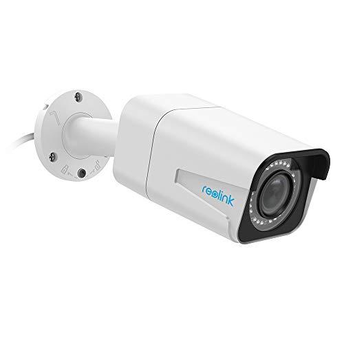 Reolink 5MP PoE Überwachungskamera Aussen, 4X Optischer Zoom IP Kamera mit Audio und Micro SD...