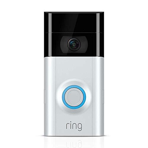 Ring Video Doorbell 2 | Video Türklingel 2 1080p HD-Video, Gegensprechfunktion, Bewegungsmelder,...