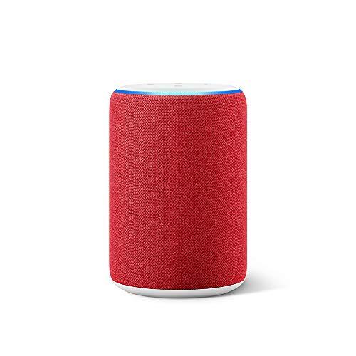 Amazon Echo (3.Generation) - smarter Lautsprecher mit Alexa, (RED) Edition
