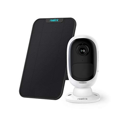 Reolink Überwachungskamera Aussen Akku, 1080p Kabellose WLAN IP Kamera mit PIR Bewegungsmelder,...