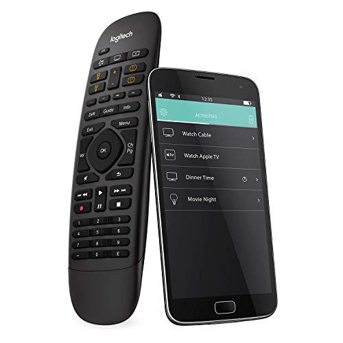 Logitech HARMONY COMPANION Universalfernbedienung, Für Kabelbox, Apple TV, fireTV, Alexa, Roku,...