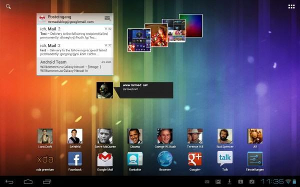 Galaxy Tab 10.1 Android 4