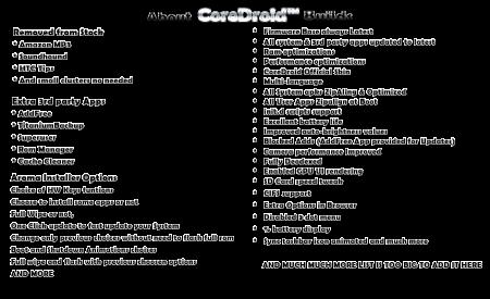 CoreDroid One X v2.0 techboys.de • smarte News, auf den Punkt!