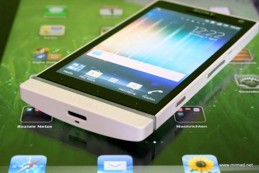 Sony Xperia S Test oder: Die Sache mit dem S