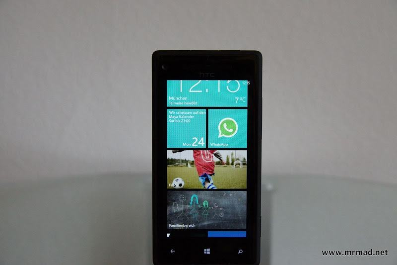 Windows Phone HTC 8X Testbericht