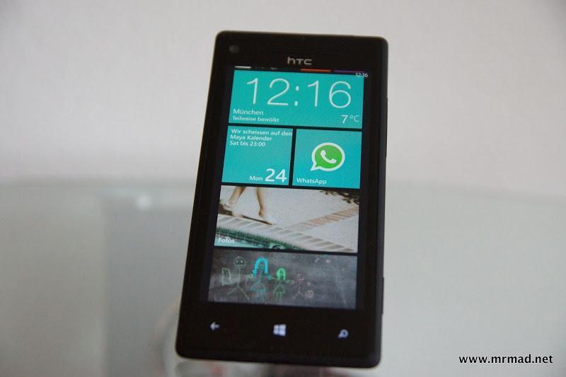 Windows Phone HTC 8X Testbericht - Comeback von WP 8 und HTC?