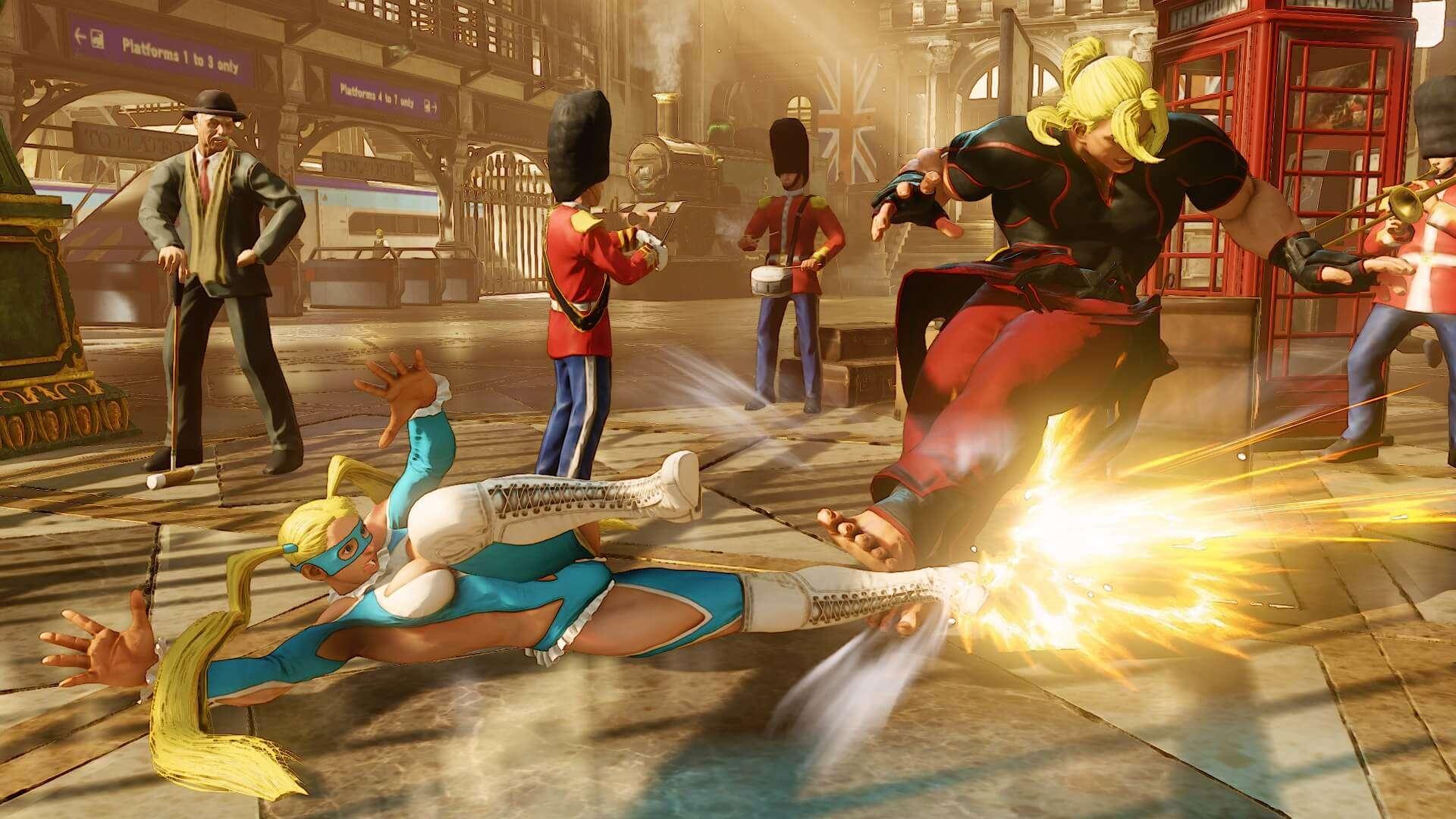 Neuer Street Fighter V Trailer mit Mika - fast so lecker wie Milka-Schokolade...