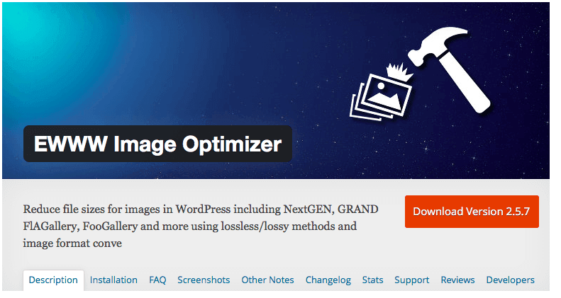 W3 Total Cache Alternative EWWW Image Optimizer