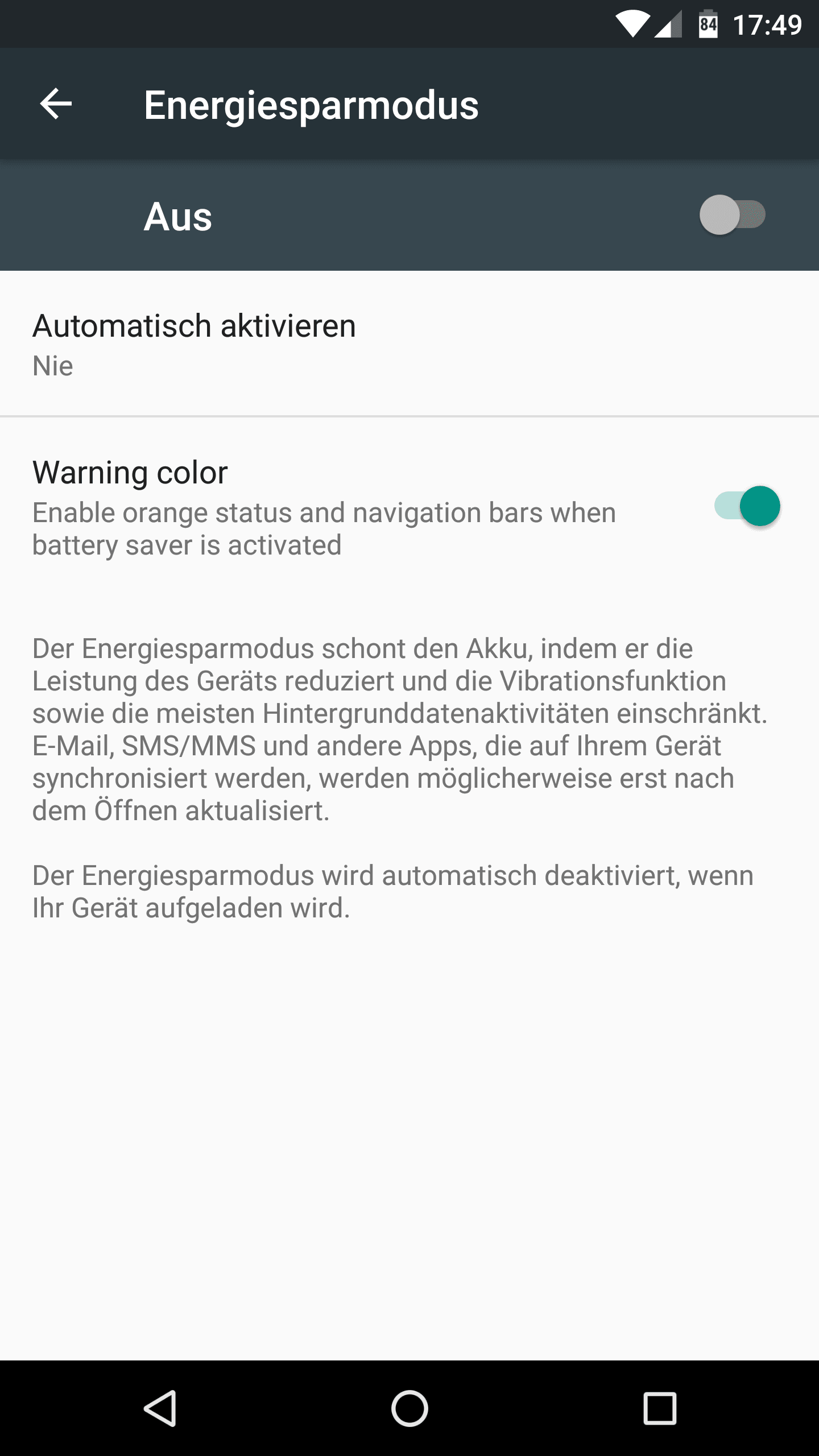 Anleitung: Doze deaktivieren unter Android Nougat & Marshmallow 6