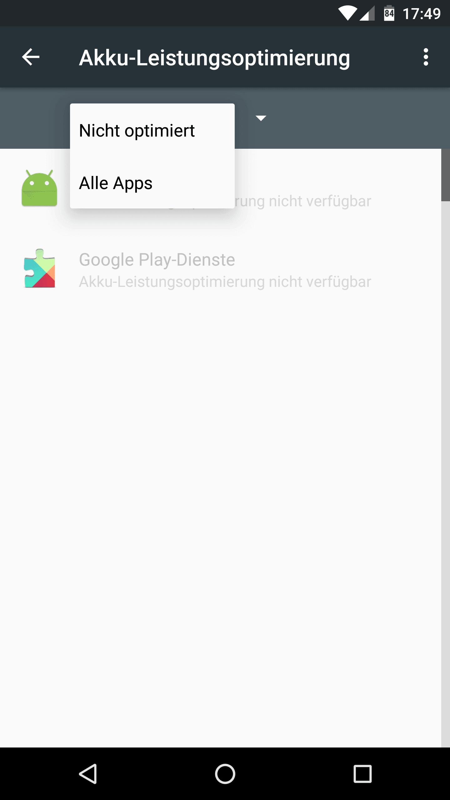 Anleitung: Doze deaktivieren unter Android Nougat & Marshmallow 4