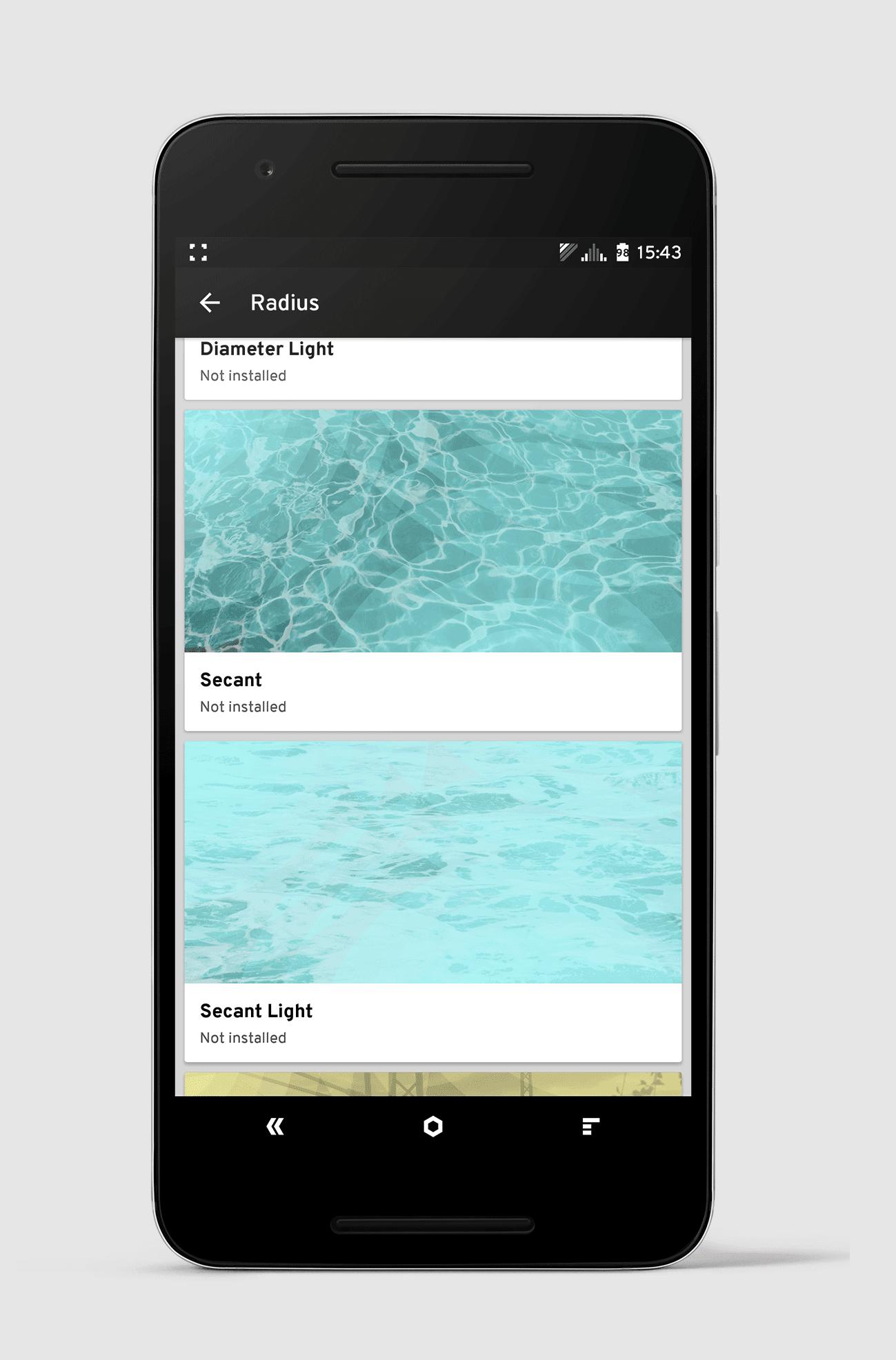 Tipp für Cyanogen Themes: Radius & Arcus App 3