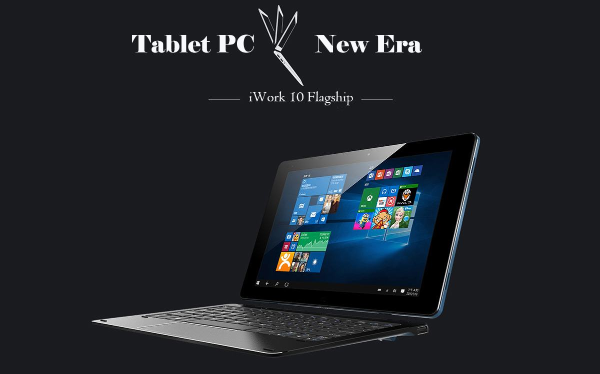 Cube iWork 10 Flagship Ultrabook Tablet