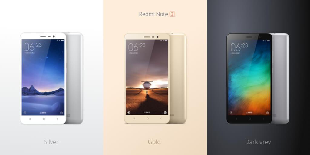 Xiaomi Redmi Note 3 c