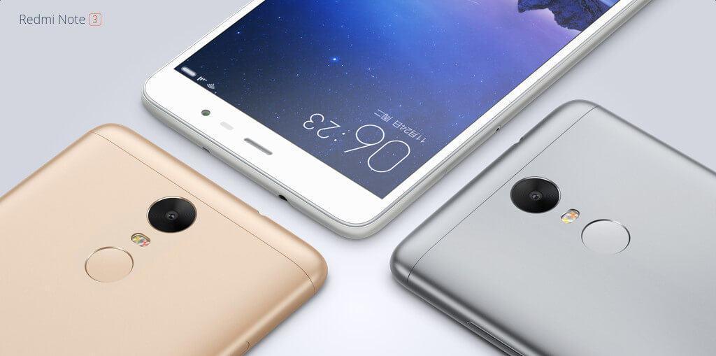 Xiaomi Redmi Note 3 f