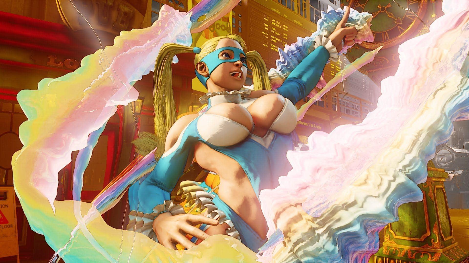 Neuer Street Fighter V Trailer mit Mika – fast so lecker wie Milka-Schokolade…