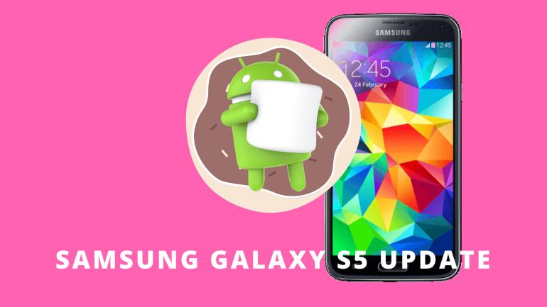Galaxy S5 Marshmallow Update