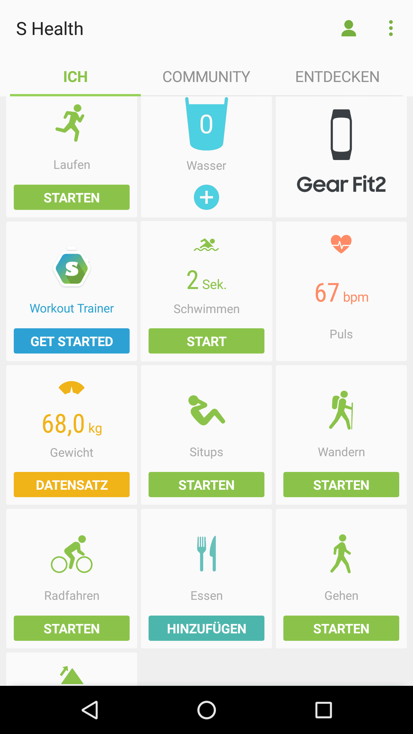 Gear Fit2 Test