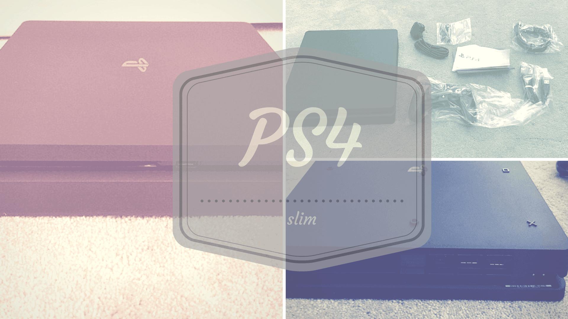 PS4 Slim – ohne Ecken und Kanten