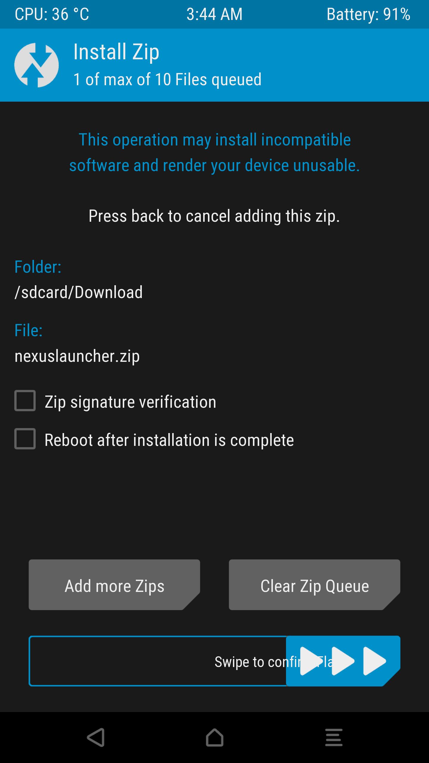 Anleitung: Nexus Launcher für alle Android-Geräte 12