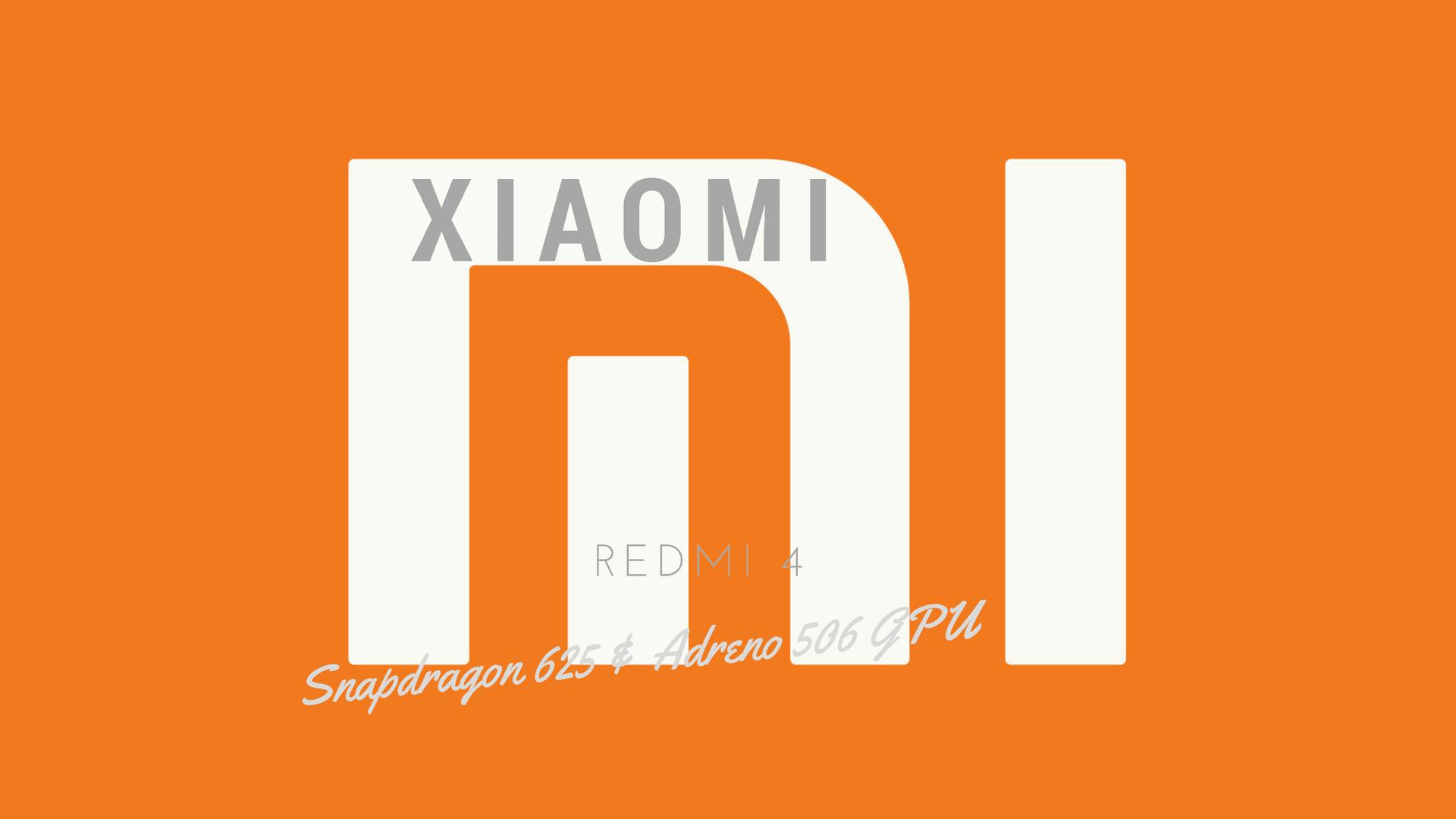 Xiaomi Redmi 4 Specs – MIUI 8, Octacore & Adreno 506 GPU
