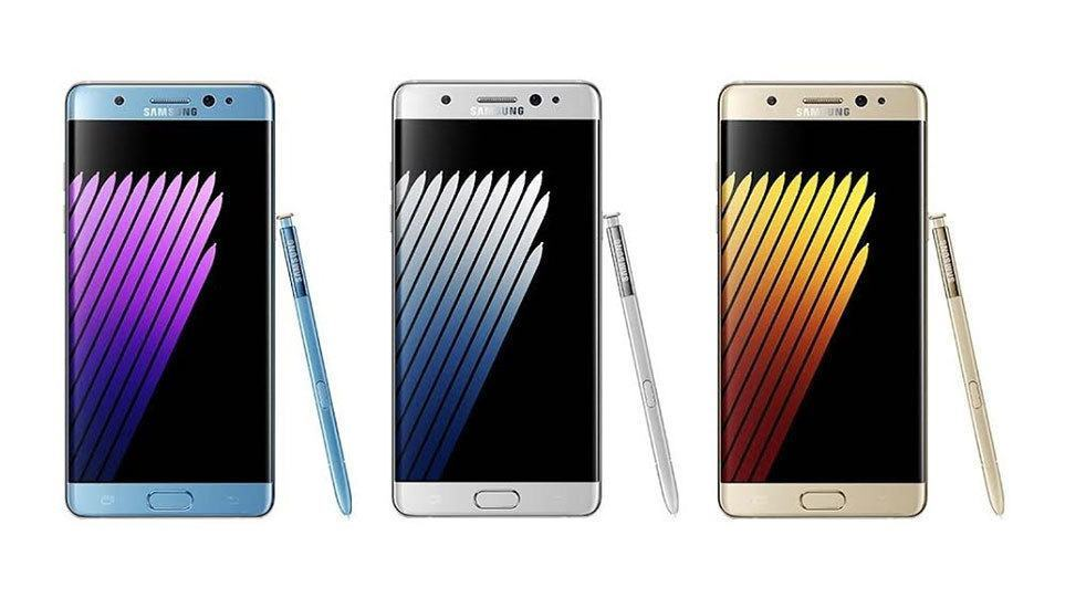 Galaxy Note 7 Render