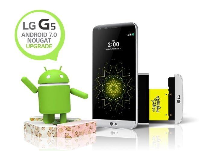 LG G5 Nougat Upgrade