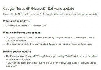 Nexus 6P: Android 7.1.1 kommt als Nikolaus-Update 12