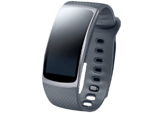 SAMSUNG Gear Fit 2 Größe S, Smart Watch, Dunkelgrau