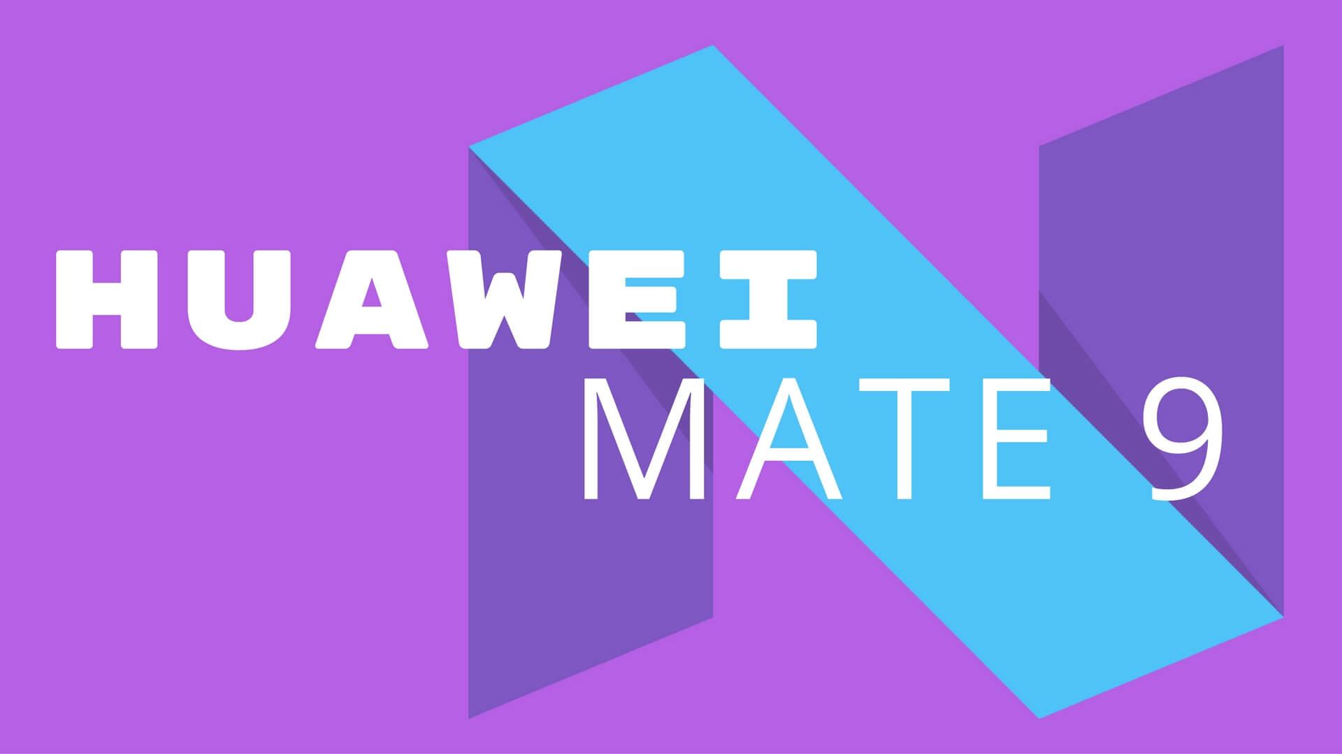 Huawei Mate 9 Test