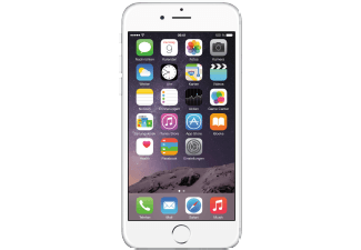 APPLE iPhone 6, Smartphone, 16 GB, 4.7 Zoll, Silber, LTE