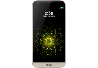 LG G5, Smartphone, 32 GB, 5.3 Zoll, Gold, LTE