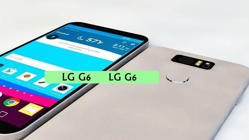 LG G6 se filtró en un magnífico diseño con conjunto de chips ...