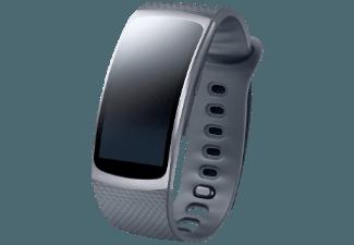SAMSUNG Gear Fit 2 Größe S, Smart Watch, S, Dunkelgrau