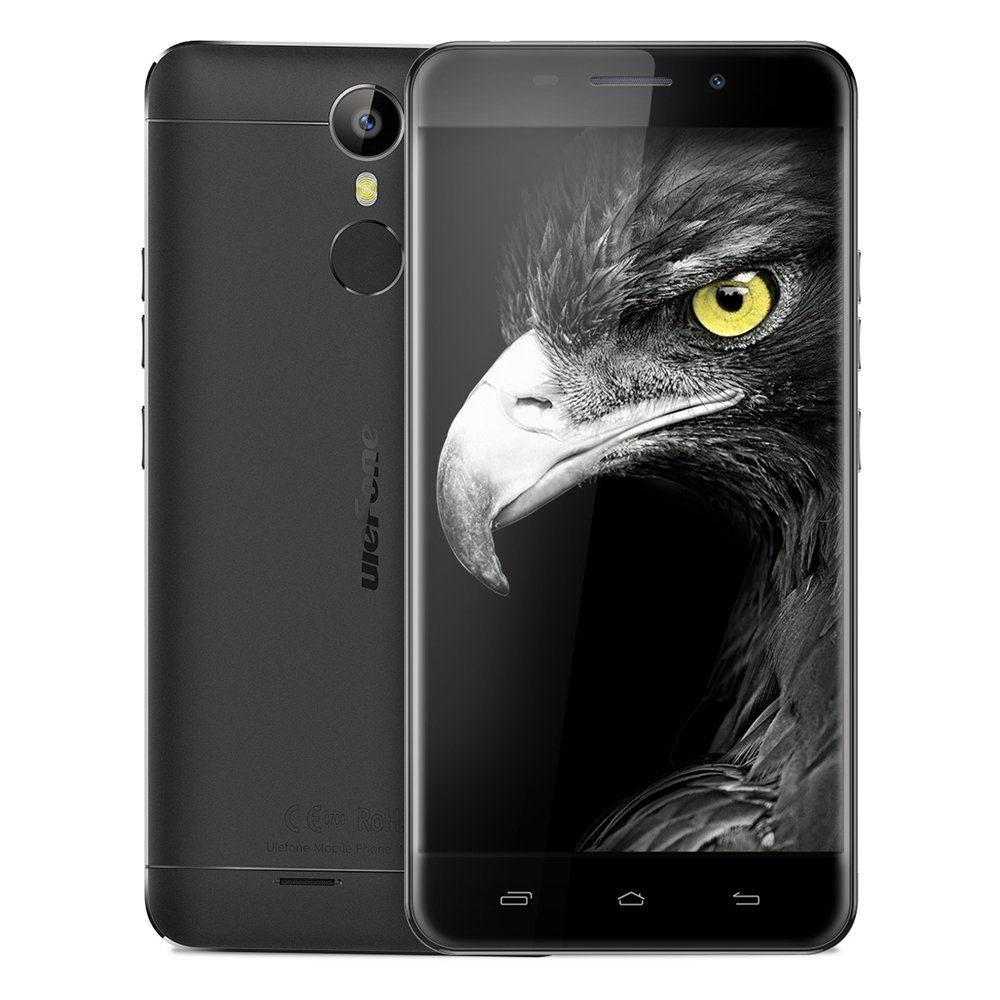 "Ulefone Metal 4G LTE Smartphone Android 6.0 Octa Core 5.0 ""Screen 3GB RAM+16GB ROM 5MP+13MP Doppelkameras Fingerabdruck"