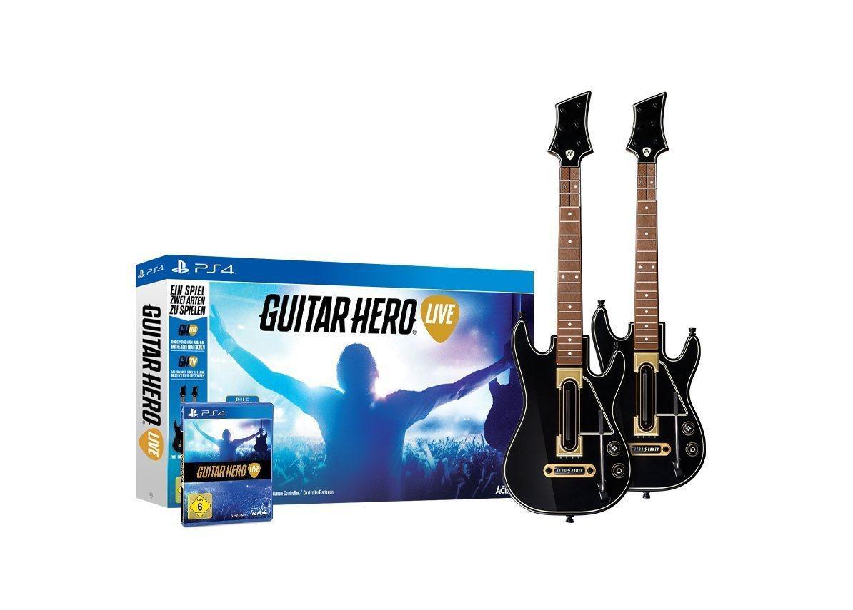 Guitar Hero Live mit 2 Gitarren-Controllern nur 34,95 + Versand