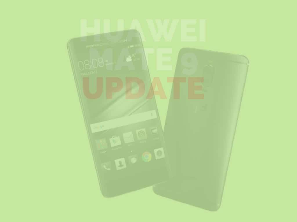 Huawei Mate 9 Update: MHA-AL00C00B173 veröffentlicht
