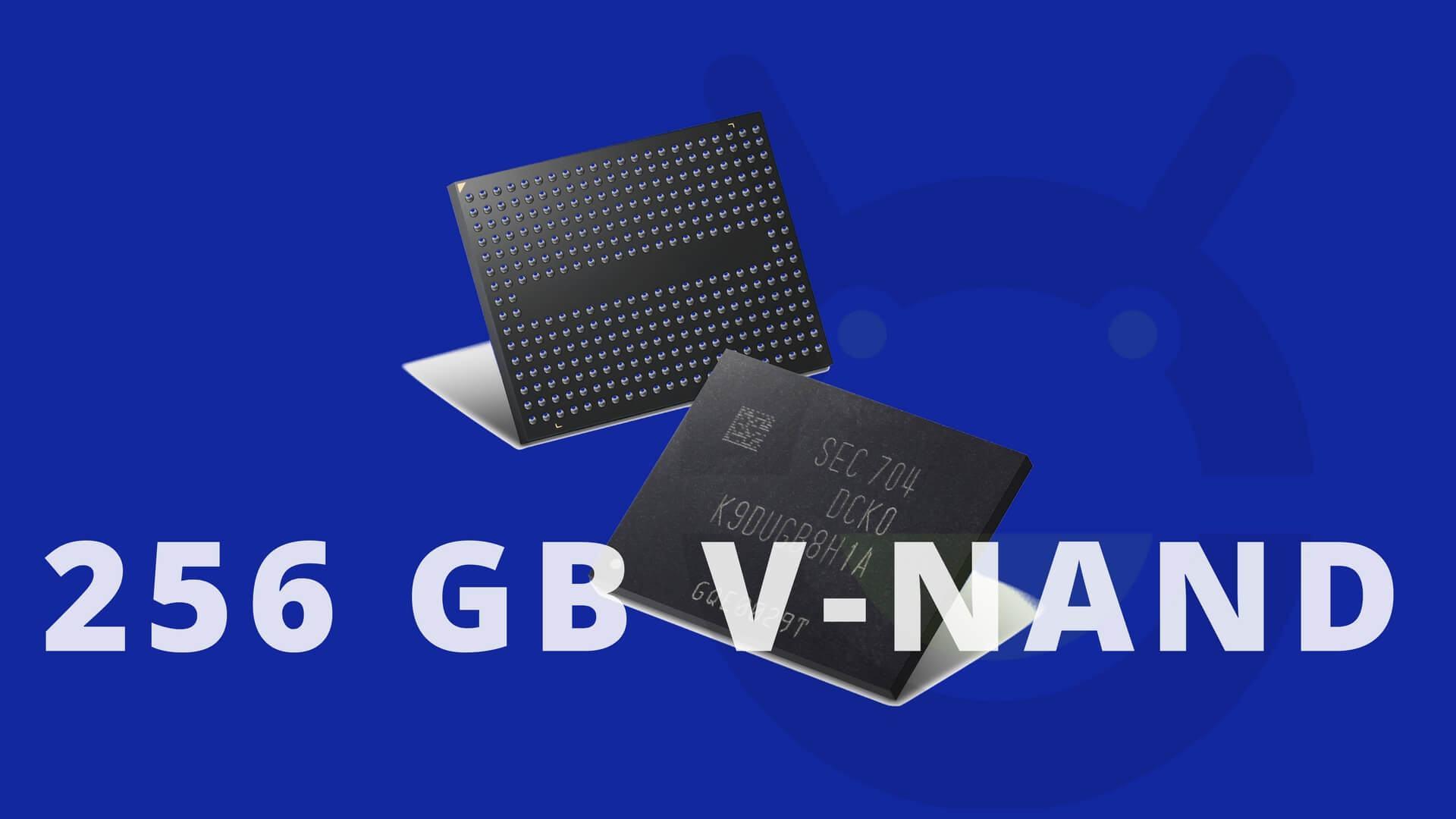 Samsung beginnt Produktion von 256GB V-NAND-Chips