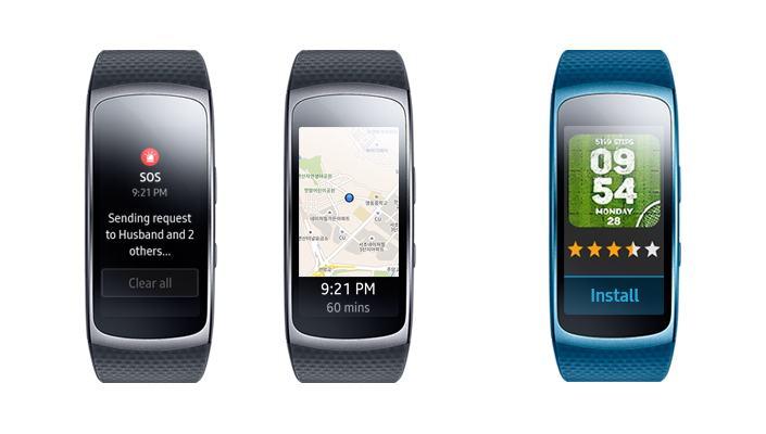 Gear Fit 2 Update R360XXU1DQE6 gestartet: SOS-Nachrichten und Standort-Tracking hinzugefügt