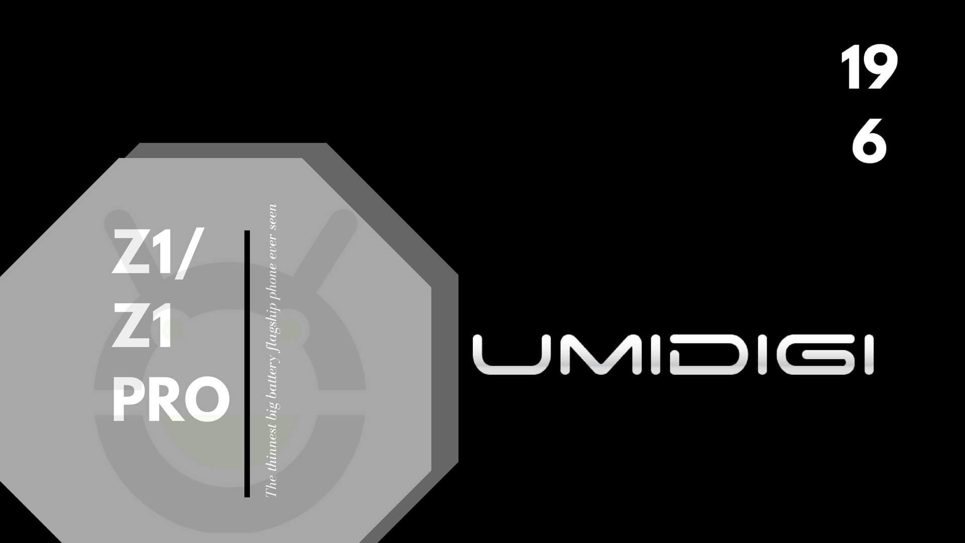 Faktencheck zum UMIDIGI Z1 PRO Release