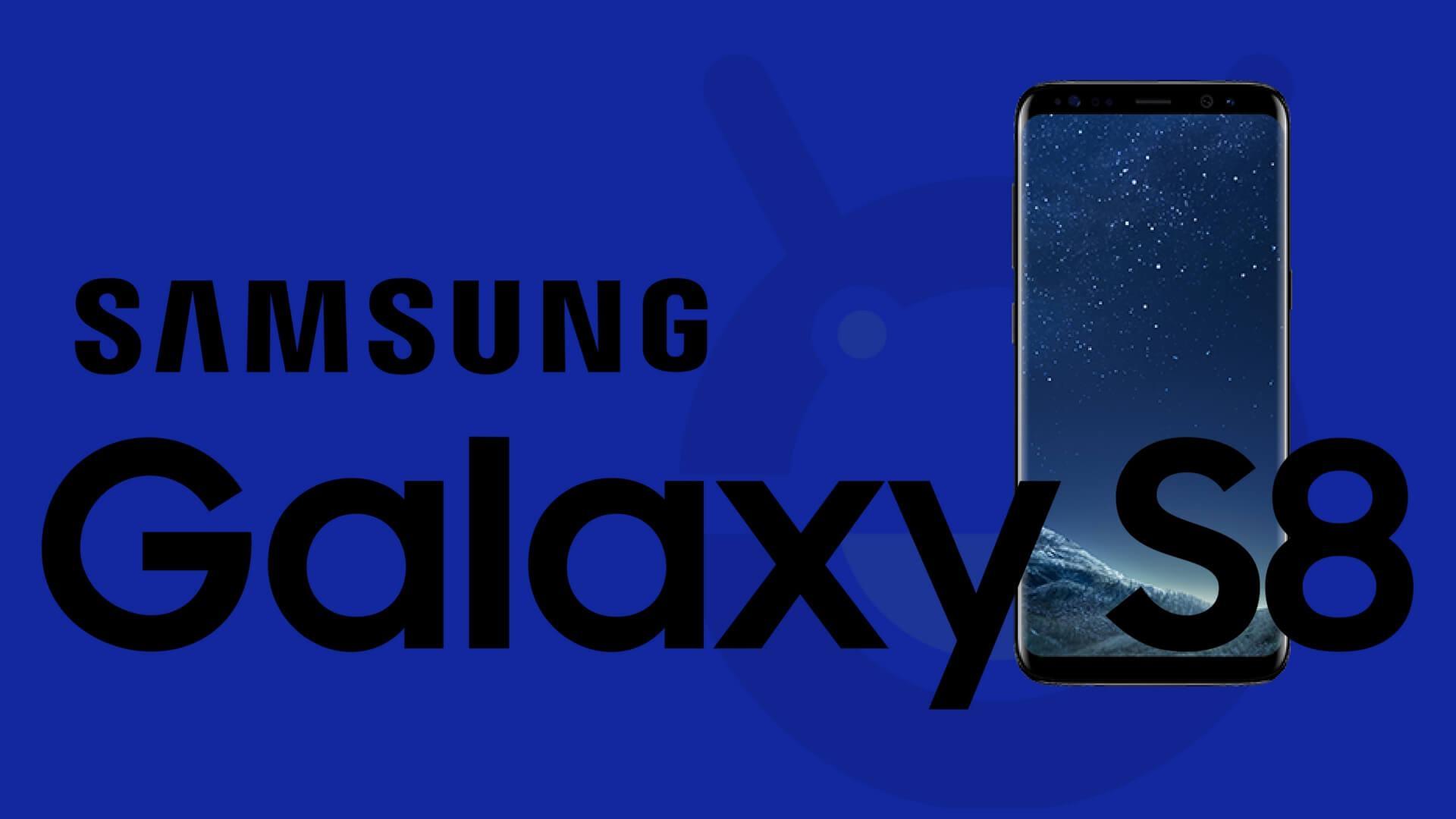Hinweis auf Android 7.1 für das Samsung Galaxy S8 (Fake)