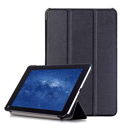 AVIDET Ultra Slim Xiaomi Mi Pad 3 Hülle Case Superleicht Ständer Smart Shell Cover Schutzhülle Etui Tasche für Xiaomi Mi Pad 3 Tablet-PC (Schwarz)