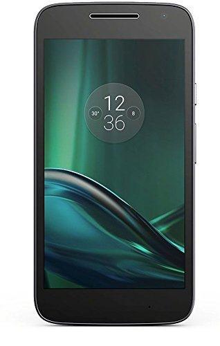 Lenovo Moto G4 Play Smartphone (12,7 cm (5 Zoll), 16 GB, Android, Dual-SIM) schwarz