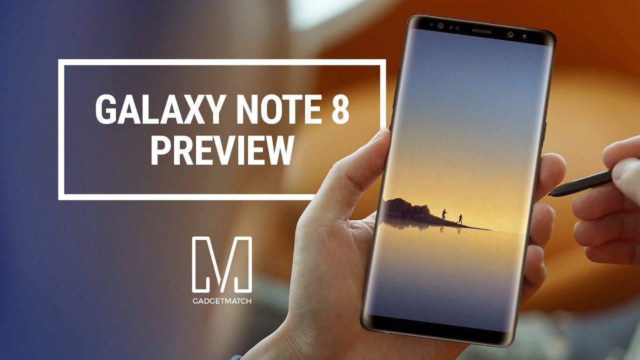 Download: Hier sind die Galaxy Note 8 Wallpapers