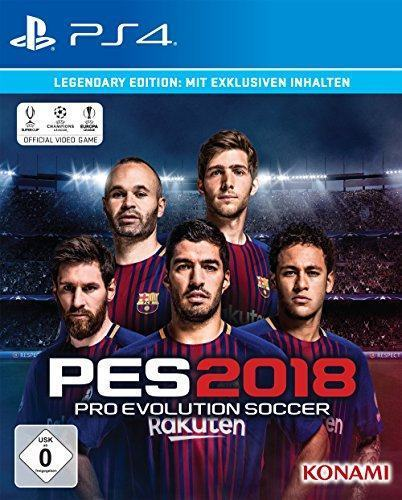 PES 2018 - Legendary Edition - [PlayStation 4]
