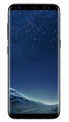Samsung Galaxy S8 Smartphone (5,8 Zoll (14,7 cm) Touch-Display, 64GB interner Speicher, Android OS) midnight black