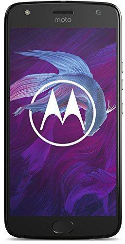 Motorola Moto X4 Smartphone 13,02 cm (5,2 Zoll) (16MP Kamera, 3GB RAM/32GB, Android) schwarz
