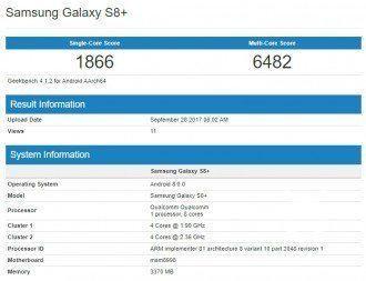 Galaxy S8+ Android 8 Update nicht mehr weit?