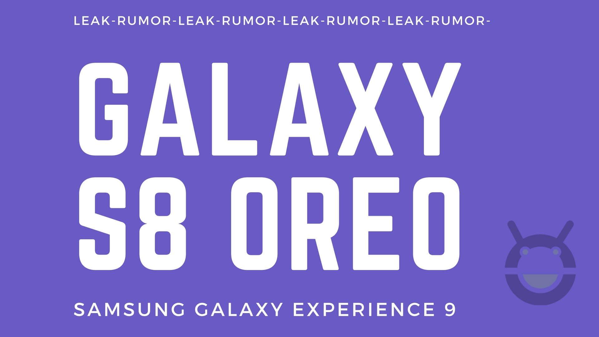 Erste Screenshots und Changelog der Galaxy S8 Android 8.0 Beta aufgetaucht